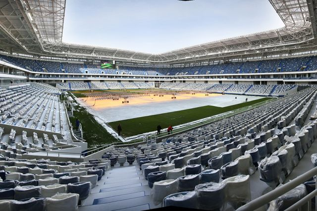 На первый матч на «Стадионе Калининград» будет продано 10 тысяч билетов.