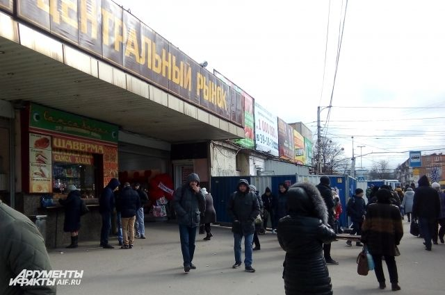 На Центральном рынке Калининграда закончили снос вещевых павильонов.