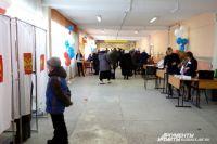 Многие приходили на избирательные участки семьями, чувствовалась праздничная атмосфера.