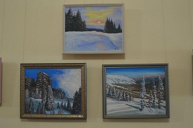 В Салехарде открылась выставка современного изобразительного искусства