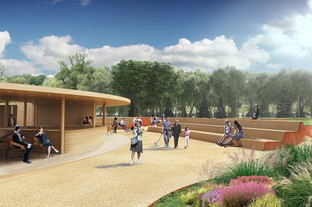 Так будет выглядеть парк Кашкадан
