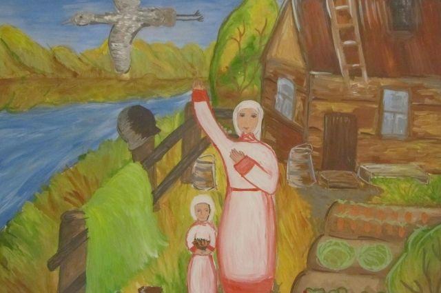 Рисунок Кропачёвой Ольги (13 лет, Тверь)