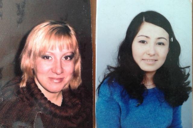Слева Люция, родная дочь Зои Тугановой, справа - Екатерина, которую воспитали в семье Тугановых.