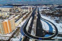Новая эстакада через Варшавское шоссе со съездом на улицу Маршала Савицкого в Щербинке.