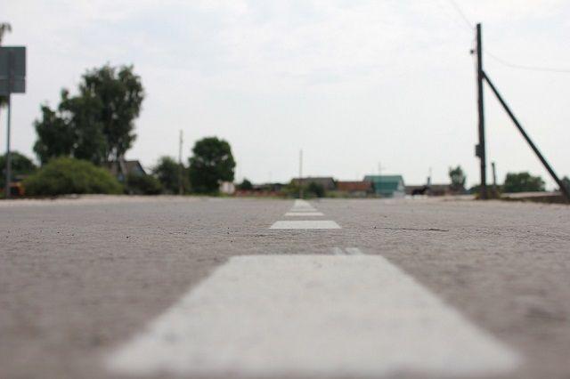 Зачем на дороге синяя разметка?