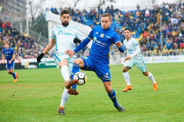 Игра на своём поле с «Зенитом» из Санкт-Петербурга показала, что был проведён серьёзный анализ.