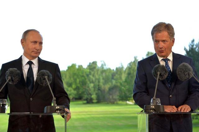 Путин провел переговоры спрезидентом Финляндии поповоду отравления Скрипаля