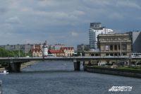 На эстакадном мосту в Калининграде на месяц перекроют две полосы.