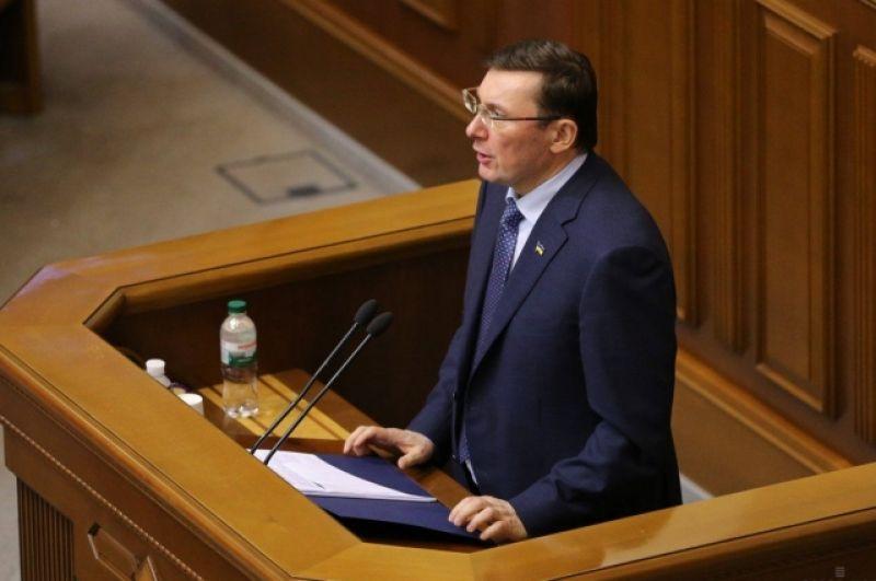 Также Луценко говорит о том, что договорившись о поставках оружия из