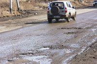 Состояние дорог в Иркутске после зимы.