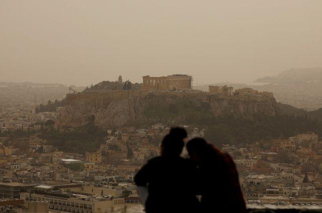 Небо над греческим островом Крит покраснело из-за африканской пыли - Real estate