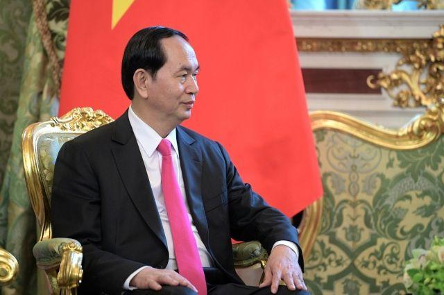 Президент Вьетнама пригласил В.Путина посетить страну