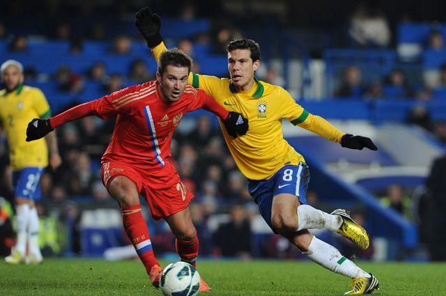Как играли между собой сборные России и Бразилии?