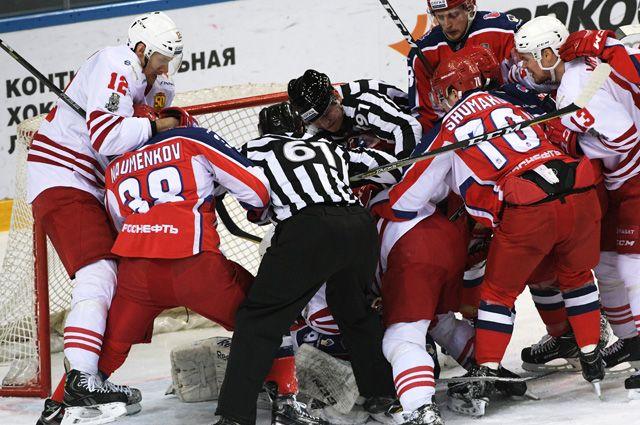 Матч ЦСКА — «Йокерит».