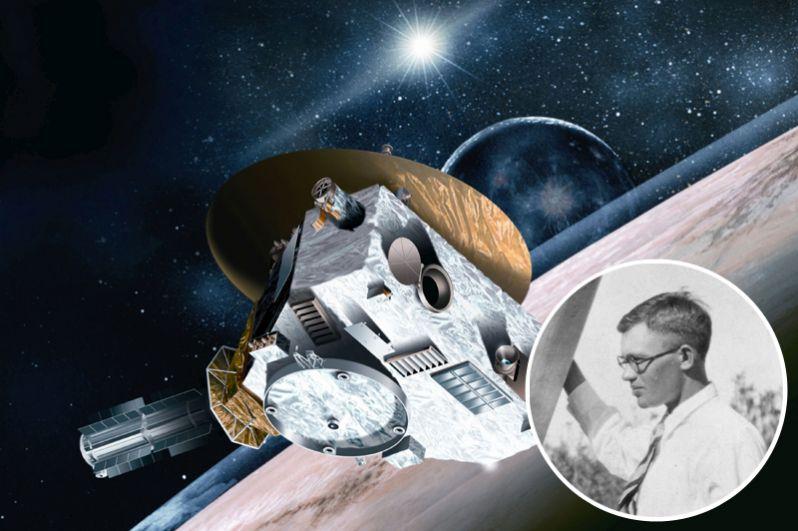 Капсула с прахом знаменитого астронома Клайда Томбо, открывшего в 1930 году Плутон, на автоматической межпланетной станции «Новые горизонты» была запущена к Плутону в 2006 году, к столетию ученого. Помимо прочего, на борту космического аппарата находится компакт-диск с именами людей, участвовавших в акции НАСА «Отправьте свое имя на Плутон», фрагмент первого обитаемого частного космического аппарата SpaceShipOne, две монеты, два флага и почтовая марка США.