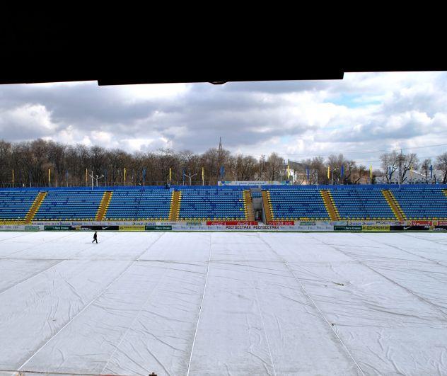 Комиссия на стадионе «Олимп-2»