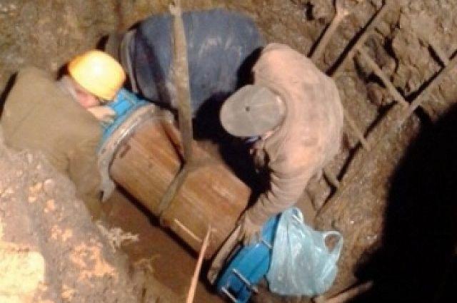 Рабочие перебили два кабеля иоставили без отопления весь район КМДК