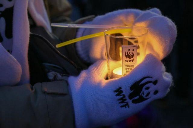 Акция «Час Земли» позволила столице сэкономить на электрической энергии