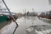 Подтопление домов в Краснощековском районе