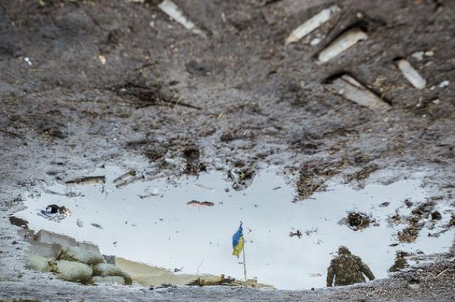 Разведгруппа ВСУ подорвалась на минном поле в районе Донецка