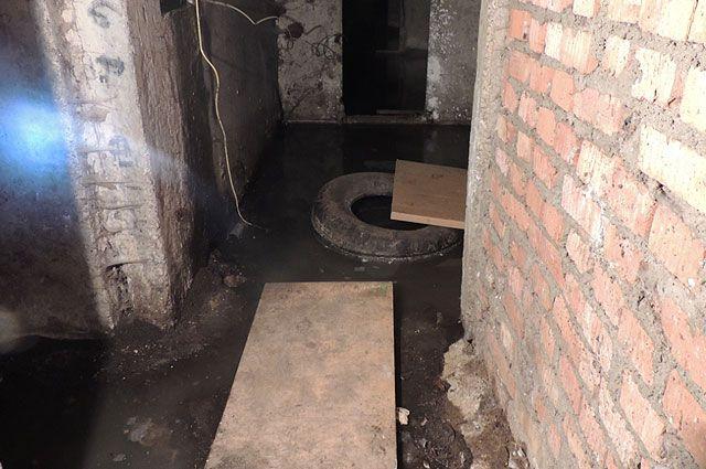 Вподвале жилого дома наРемесленной улице вПетербурге отыскали «пруд»