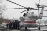 санитарный вертолёт в 2017 году вылетал на вызовы более 400 раз.
