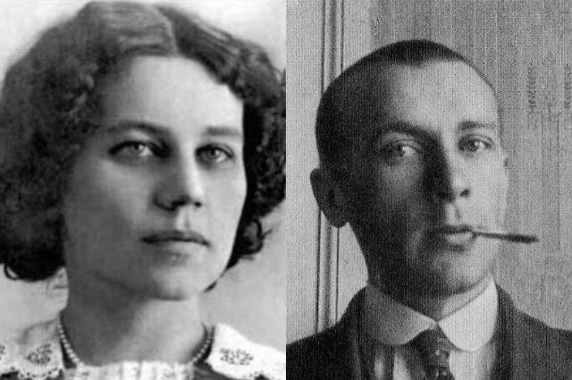 Михаил Булгаков и Татьяна Лаппа.