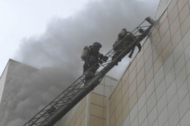 Названа предварительная версия причины пожара вкемеровском ТРЦ