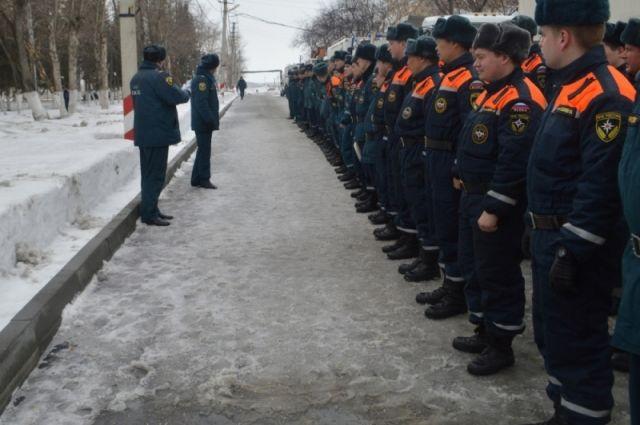 Спасотряды МЧС России