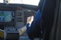 Занятия в профильном корпоративном классе гражданской авиации ведутся второй год.
