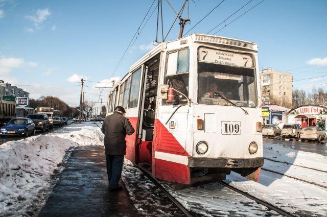 Пассажиры трамваев будут передвигаться с большим комфортом.