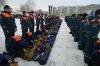 Новосибирские спасатели экстренно отправились в командировку.
