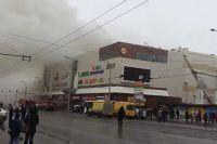 Пожар начался с игровой комнаты в ТРЦ.
