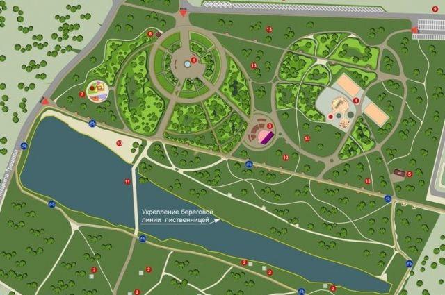 ВСмоленске стартовало строительство парка «Соловьиная роща»