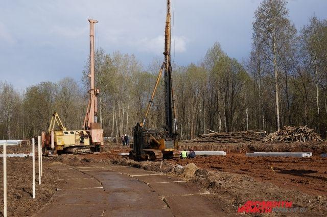 В региональном Министерстве строительства пояснили, что сейчас завершаются работы первого этапа.