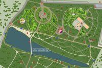 Дизайн-проект нового парка в «Соловьиной роще».