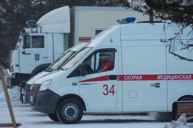 ВАлтайском крае перевернулся пассажирский автобус