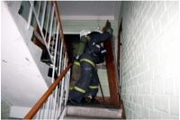Пожар был полностью потушен за 20 минут.