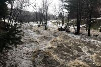 Паводок в Белокурихе