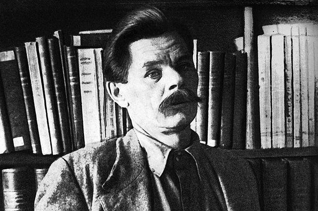 Максим Горький на острове Капри в 1913 году.