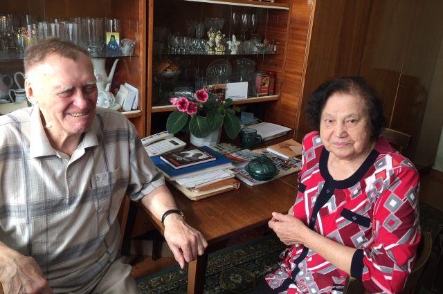 Руфина и Анатолий Малютины.