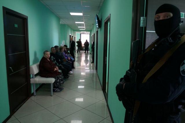 Задержаны главный врач икоординатор частной поликлиники вБрянске