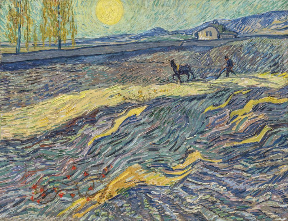 В ноябре 2017 года аукционный дом Christie's выставил на продажу картину «Вспаханное поле и пахарь». На ней изображен вид из окна комнаты художника в психиатрической лечебнице Святого Павла в Сен-Реми-де-Прованс, где он жил в 1889-1890 годах. Картина была продана за 81,3 млн долларов.