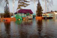 Паводок в Усть-Козлухе, март 2018