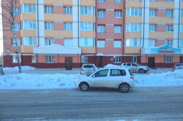 ДТП произошло на улице Лермонтова в районе дома № 10.