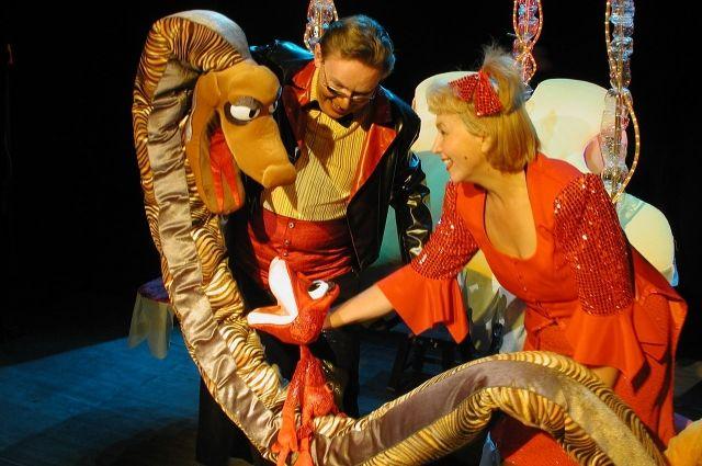Спектакли для детей ставят в частном театре