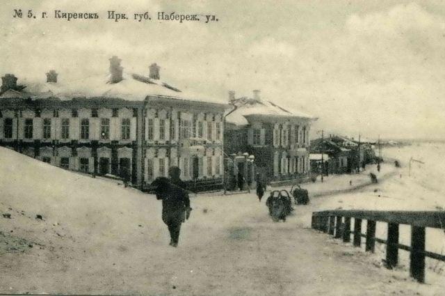 Старинный облик Киренска сохранился  до сих пор.