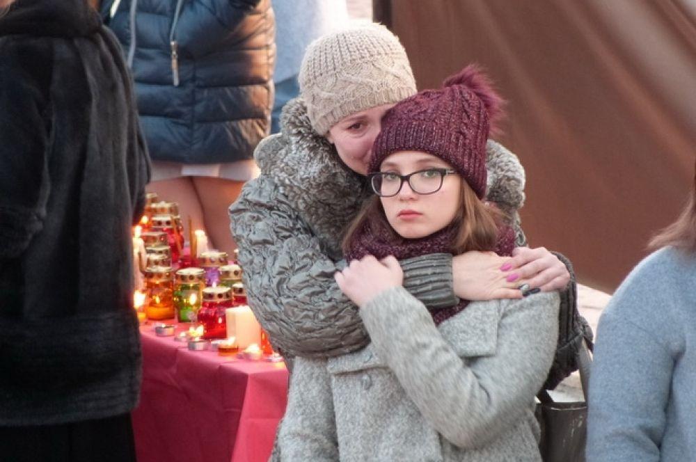 На Камчатке сопереживают жителям Кемерова.
