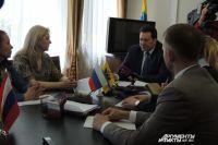 Совещание в администрации Оренбурга.