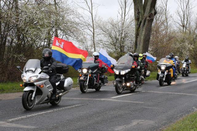 Поездка байкер и правительства Калининградской области в Польшу - традиция.